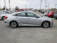 Look at this 2016 Honda Civic Sedan 4dr CVT LX. Its
