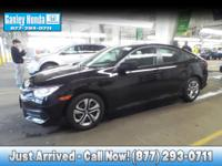 2016 Honda Civic LX CLEAN CARFAX ONE OWNER, AUTOMATIC,