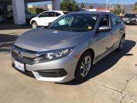 Options:  2016 Honda Civic Seda Lx|Lunar Silver