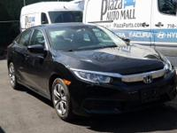 Recent Arrival! Certified. 2016 Honda Civic LX Crystal
