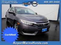 Check out this low mile Honda Certified 2016 Honda