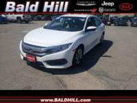 Recent Arrival! One Owner *, Clean Car-Fax *, Civic LX,