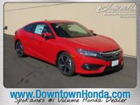 Delivers 41 Highway MPG and 31 City MPG! This Honda