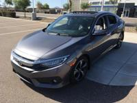 This 2016 Honda Civic Touring is complete with