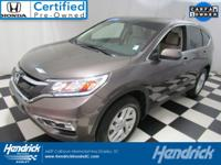 AWD, CarFax One Owner! This Honda Cr-V is CERTIFIED!