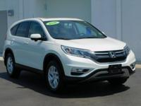 Certified. Clean CARFAX. This 2016 Honda CR-V EX in