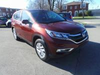 CARFAX One-Owner. Clean CARFAX. 2016 Honda CR-V EX AWD