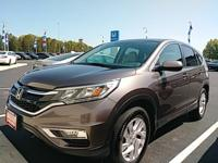 Introducing the 2016 Honda CR-V! Maximum utility meets