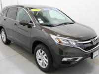 2016 Honda CR-V EX Modern Steel Metallic AWD.