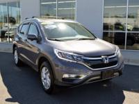CARFAX One-Owner. Modern Steel Metallic 2016 Honda CR-V