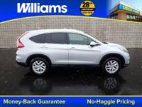 HONDA CERTIFIED PRE-OWNED CR-V!!! Clean CARFAX.