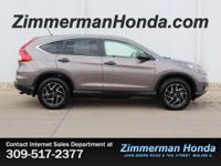 Come test drive this All Wheel Drive *2016 Honda CR-V