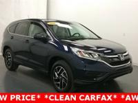 New Price! Clean CARFAX. AWD. Odometer is 7879 miles