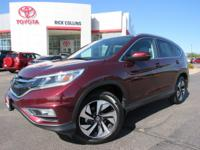 Low miles and loaded with equipment!! This 2016 Honda