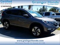 Honda Certified, CARFAX 1-Owner. REDUCED FROM $27,345!,
