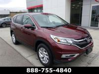 2016 Honda CR-V EX Basque Red Pearl II CARFAX