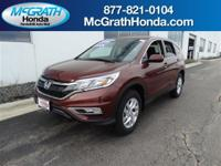 CR-V EX, Honda Certified, and AWD. Hurry and take