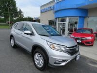 Honda Certified 2016 CR-V EX AWD, Sunroof, Heated
