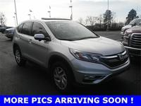 CARFAX One-Owner. Clean CARFAX. Silver 2016 Honda CR-V