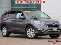 Dublin Toyota is pleased to offer this 2016 Honda CR-V.
