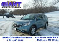 This 2016 Honda CR-V EX-L is offered to you for sale by