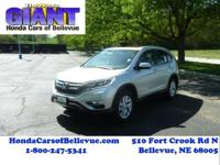 This outstanding example of a 2016 Honda CR-V EX-L is