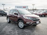 Basque Red Pearl II 2016 Honda CR-V EX-L AWD CVT 2.4L