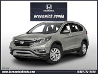 Introducing the 2016 Honda CR-V! Very clean and very