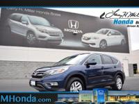Snatch a deal on this 2016 Honda CR-V EX-L while we