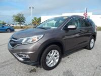 CARFAX One-Owner. Certified. Blue 2016 Honda CR-V EX-L