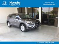 PRICE DROP FROM $24,990. CARFAX 1-Owner, Honda