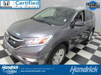 New Arrival! CarFax One Owner! This Honda Cr-V is