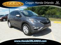 THIS CR-V IS CERTIFIED! CARFAX ONE OWNER! BACKUP