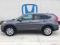 Come see this certified 2016 Honda CR-V EX-L. Its