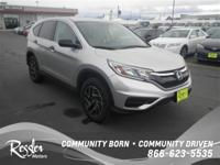 This 2016 Honda CR-V is powered by a 2.4L 4 cyls