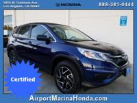 Airport Marina Honda is pleased to offer this Honda
