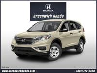 Introducing the 2016 Honda CR-V! Pure practicality in a