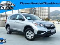 Options:  2016 Honda Cr-V Lx Silver ***No Haggle