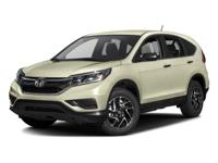 This 2016 Honda CR-V SE is a real winner with features