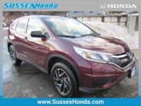 Contact Sussex Honda today for information on dozens of