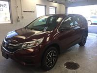 This 2016 Honda CR-V SE in Red features: 2.4L I4 DOHC