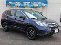 This Honda Certified CR-V SE  is Priced Below The