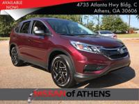 Check out this 2016 Honda CR-V SE. Its Variable