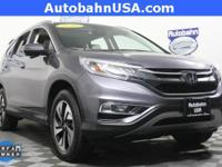 Modern Steel Metallic 2016 Honda CR-V Touring AWD CVT
