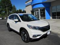 Top of the Line CR-V, Honda Certified CR-V Touring AWD,