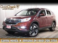 New Price! 2016 Honda CR-V Touring CLEAN CARFAX ONE