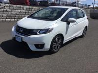 Honda Fit Ex. Nicely Equipped With Honda Link, Blue