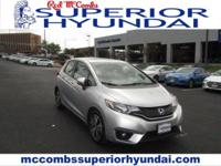 Tried-and-true, this Used 2016 Honda Fit EX makes room