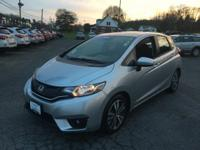 Fit EX, Honda Certified, 4D Hatchback, 1.5L I4, CVT,