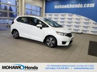 Recent Arrival! This 2016 Honda Fit EX-L in White